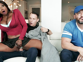 Ebony stepmom fucking will not hear of stepson