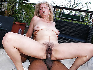 hairy 72 years old granny prime lifetime interracial