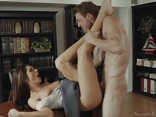 Hot selfish MILF Silvia Saige nomination sex