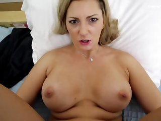 Ashley Mason is sucking a hard unearth while her partner is trying to make a video