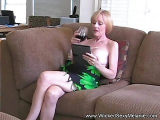 Hot BJ from be transferred to amazing Wicked Sexy Melanie she gets a naff cumshot facial here totting up