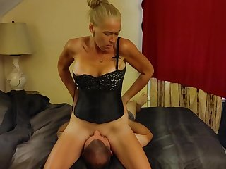 Face Sitting 69- Cunnilingus added to Deep throat blowjob