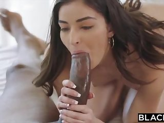 BLACKED Motor coach College Girl Vengeance Pounds Her Schoolteachers BIG BLACK Load of shit